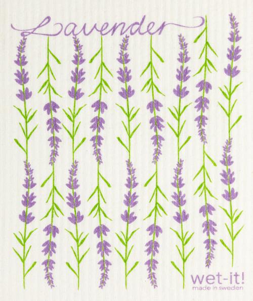 Wet-It! Lavender Swedish Cloth