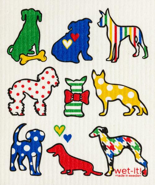 Wet-It! Dog Lover Multi Swedish Cloth
