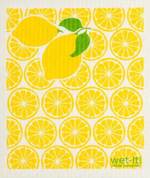 Wet-It! Lemonade Swedish Cloth