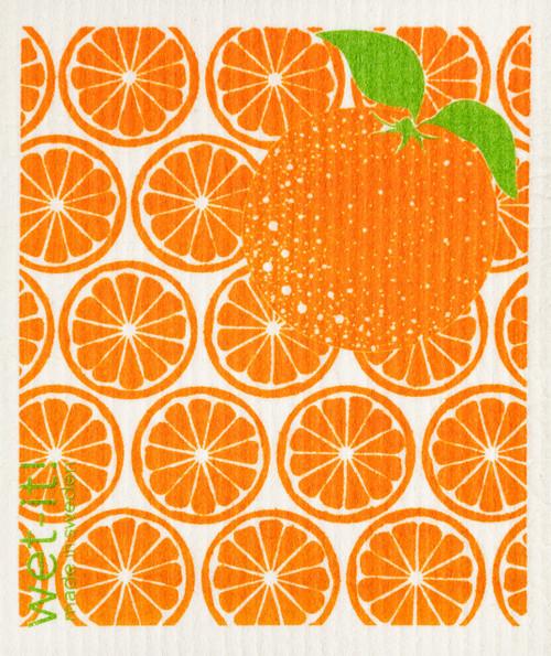 Wet-It! Orange Slices Swedish Cloth