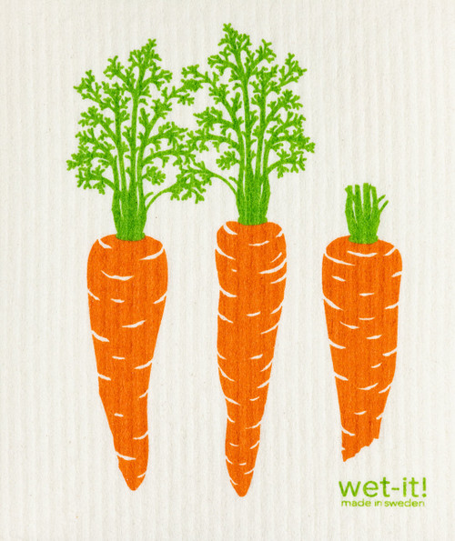 Wet-It! Carrots by Row Swedish Cloth