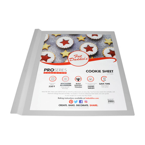 Fat Daddio's Heavy Duty Anodized Cookie Sheet, 14x17 Inches