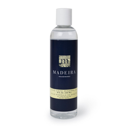 Madeira Mineral Oil 8 ounce bottle on a white background
