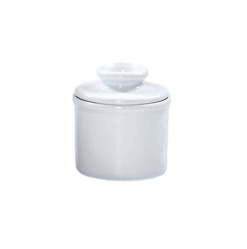Petite Butter Bell Crock in White