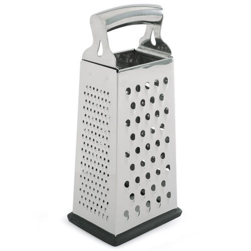 4 Sided Grater Stainless Steel Fine and Coarse Grating Sides