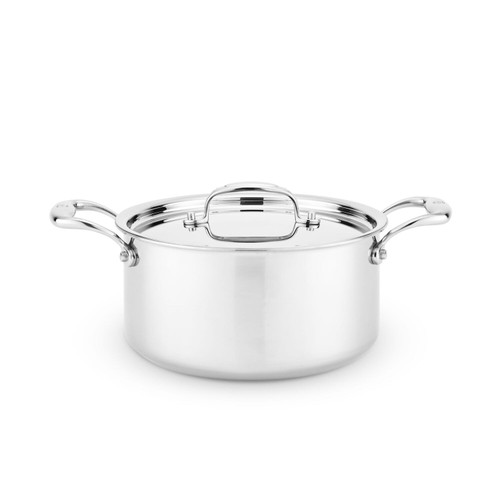 Heritage Steel 4 Quart Sauce Pot with Lid