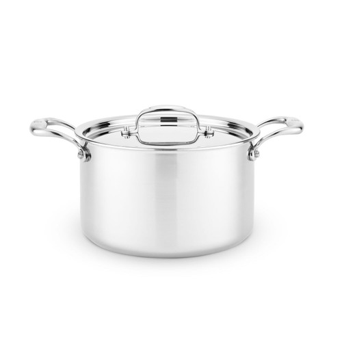 Heritage Steel 5 Quart Sauce Pot with Lid
