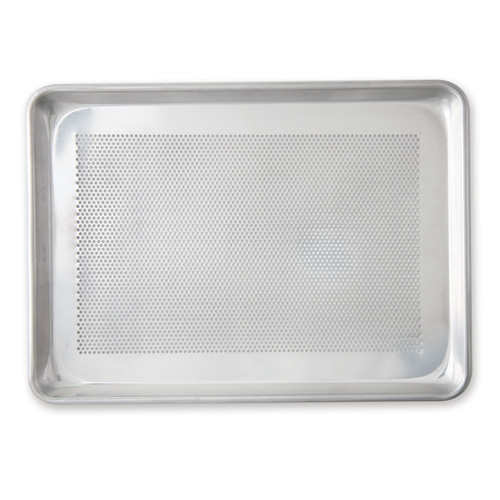 Nordic Ware Naturals Perforated Crisping Half Sheet on a white background