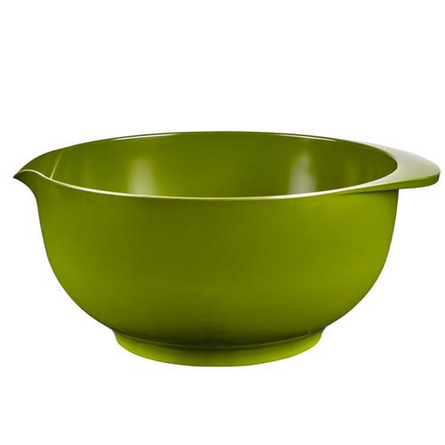 The Olive 5 liter Rosti Margrethe Mixing Bowl on a white background