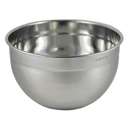 Tovolo Stainless Steel Mixing Bowl 7.5-Quart on a white background