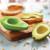 Small Avocado Hugger on an avocado.