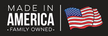 Made in American Family Owned Logo