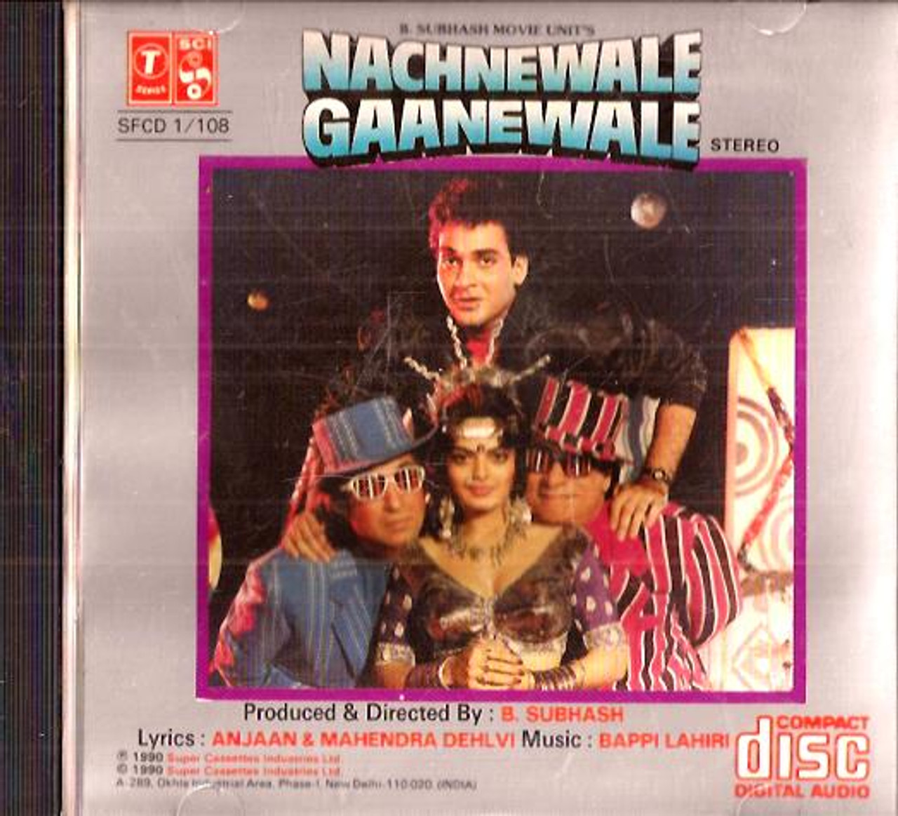 Nachnewale Gaanewale Cd 1990 India Town Gifts