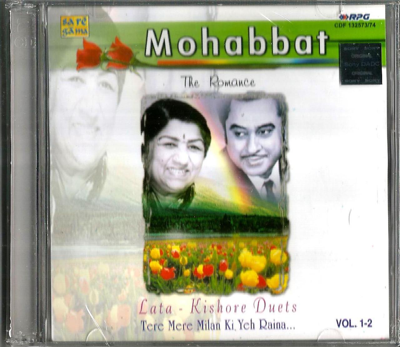 Mohabbat-The Romance / Lata / Kishore Duets / Tere Mere Milan Ki Yeh Raina  / 2 CD SET