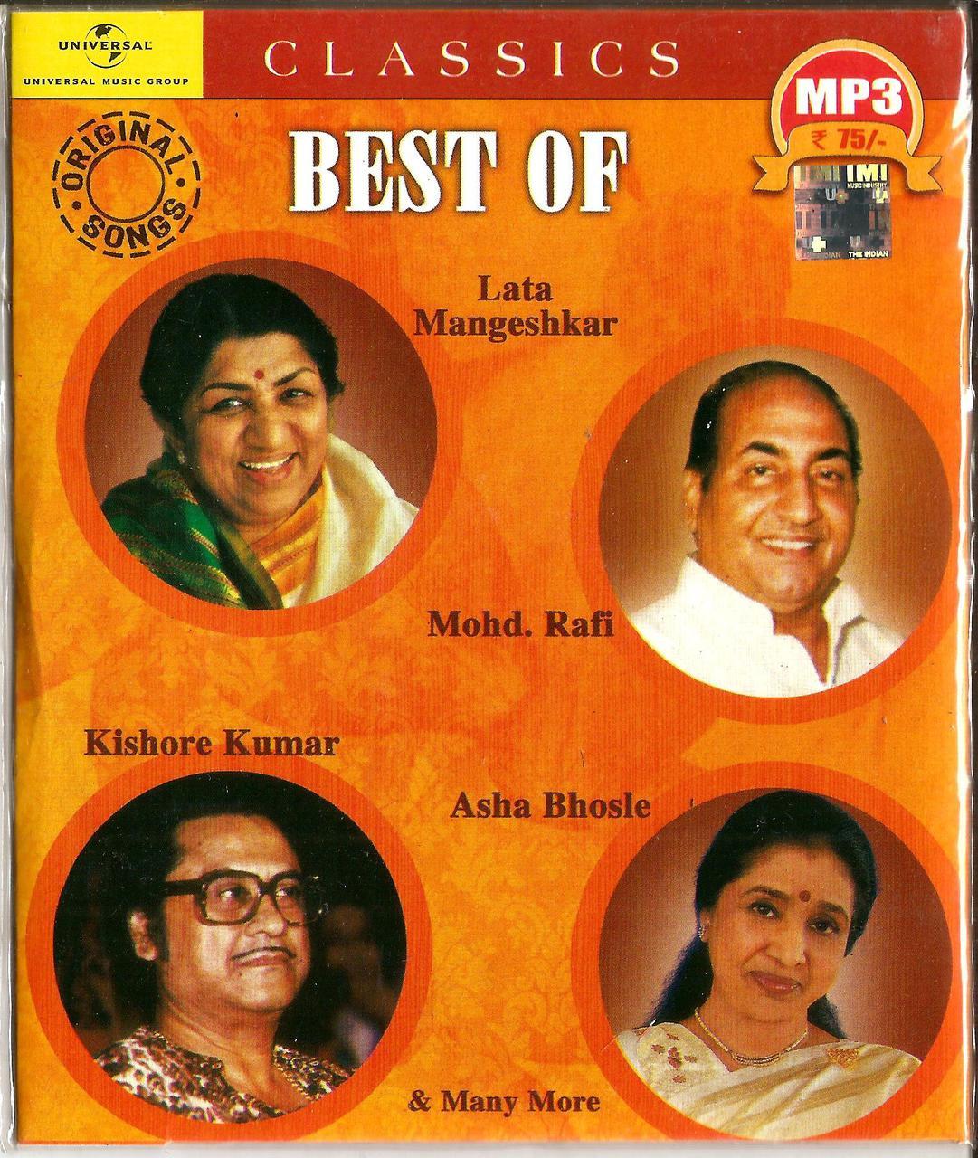 Best Of Lata Mangeshkar/Mohd  Rafi/Kishore Kumar/Asha Bhosle & Many More /  MP3