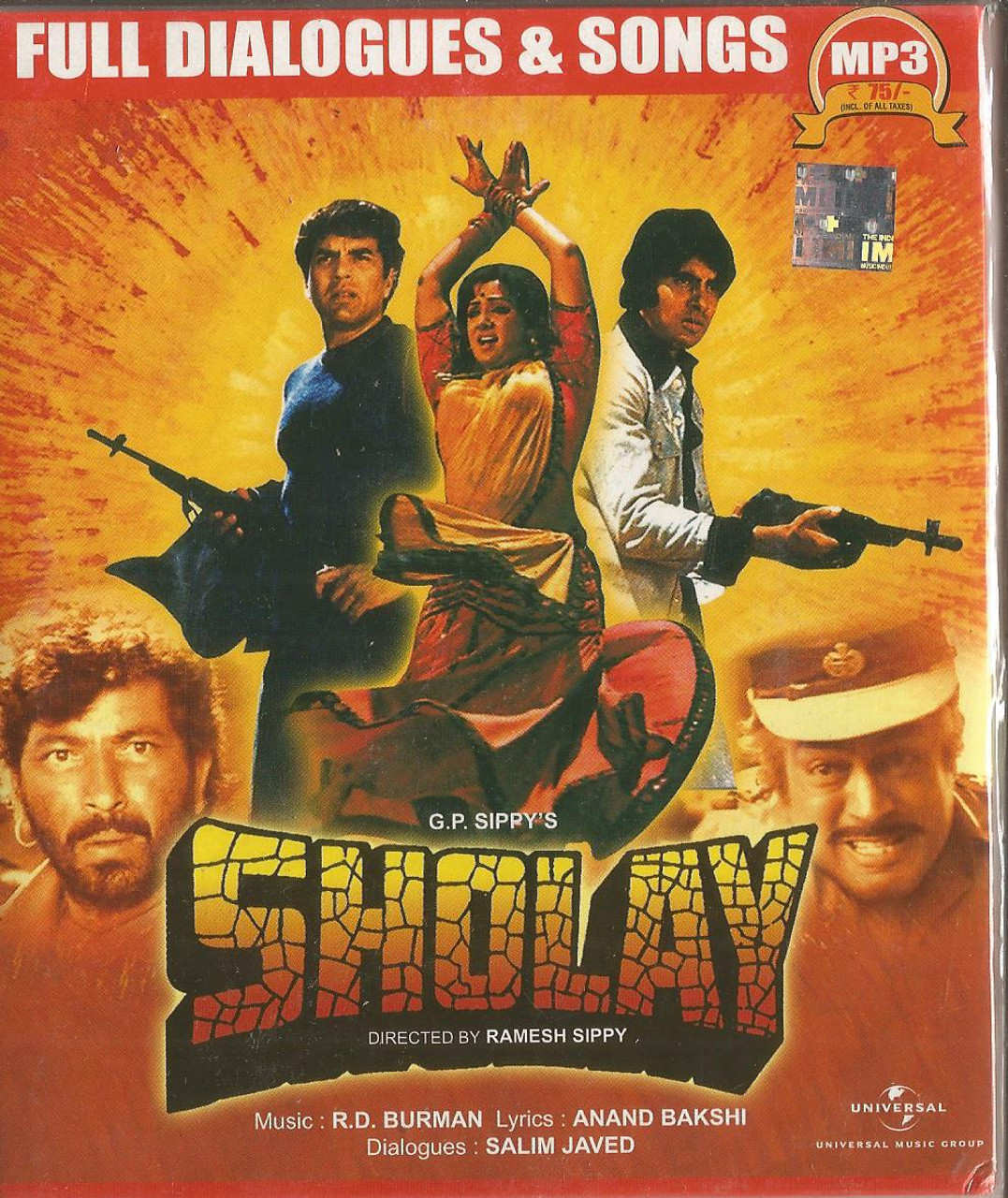 Sholay MP3 Songs Download