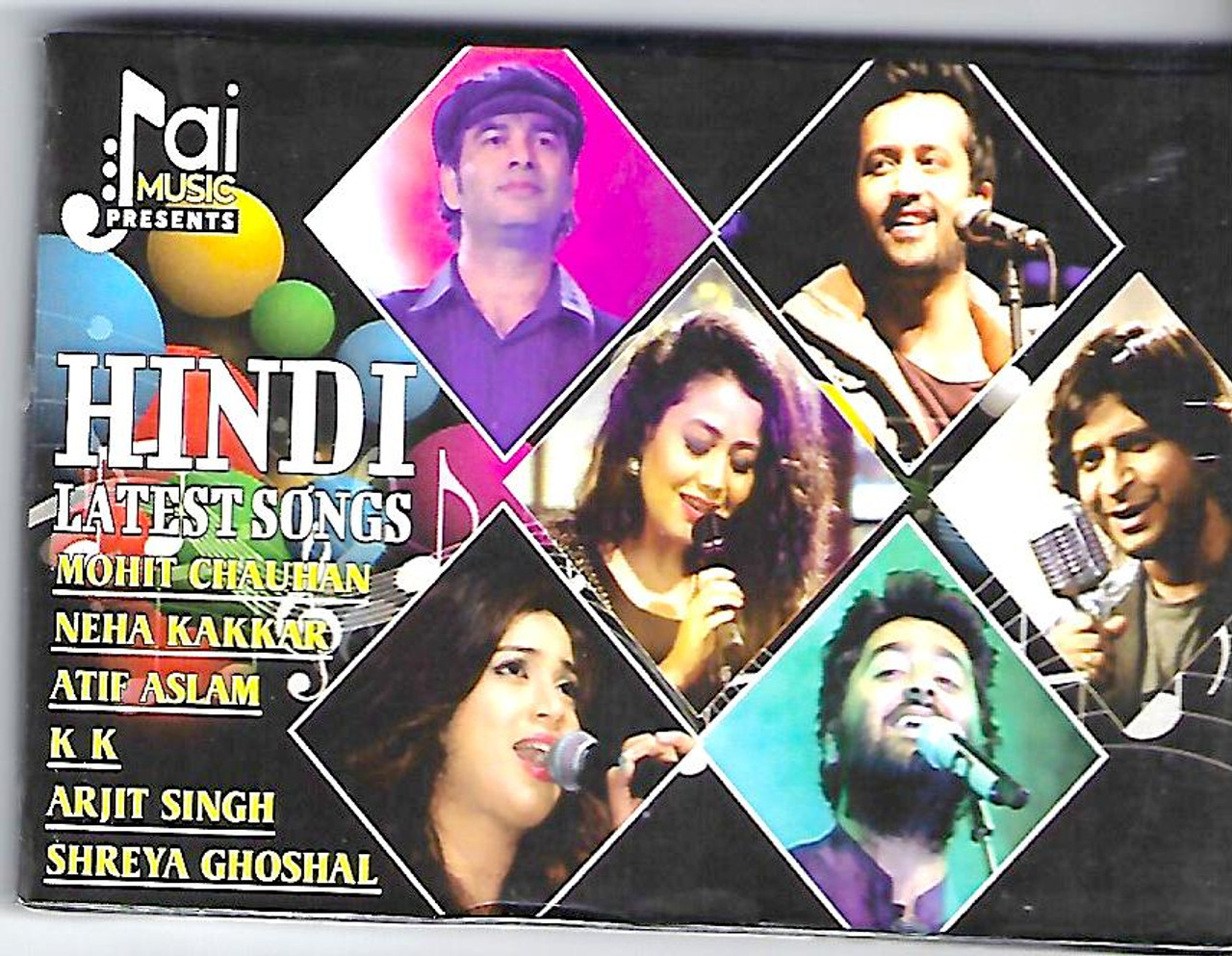 Music Card Hindi Latest Songs Arijit Singh Ankit Tiwari Sunidhi
