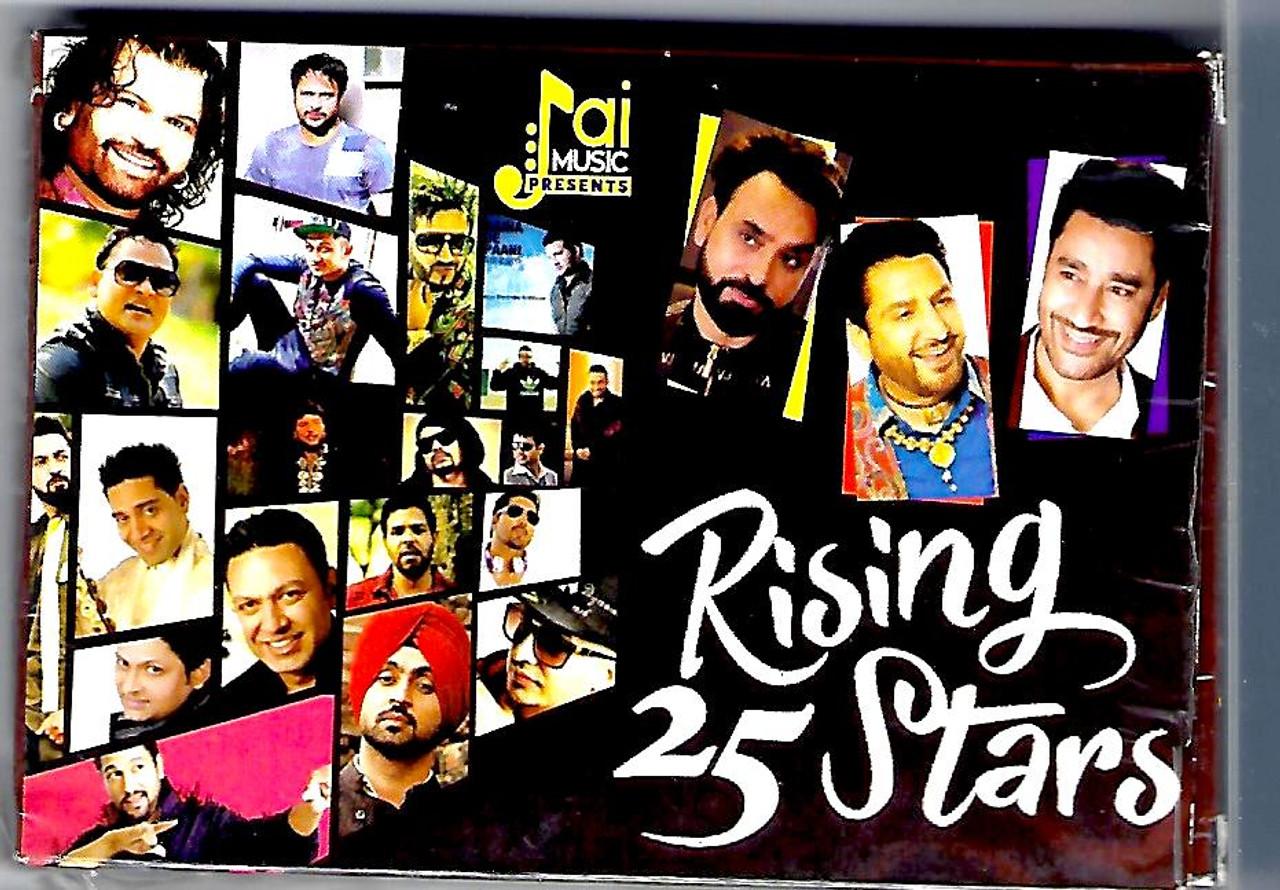 Music Card Rising 25 Stars (2500+ Songs ) PunjabI