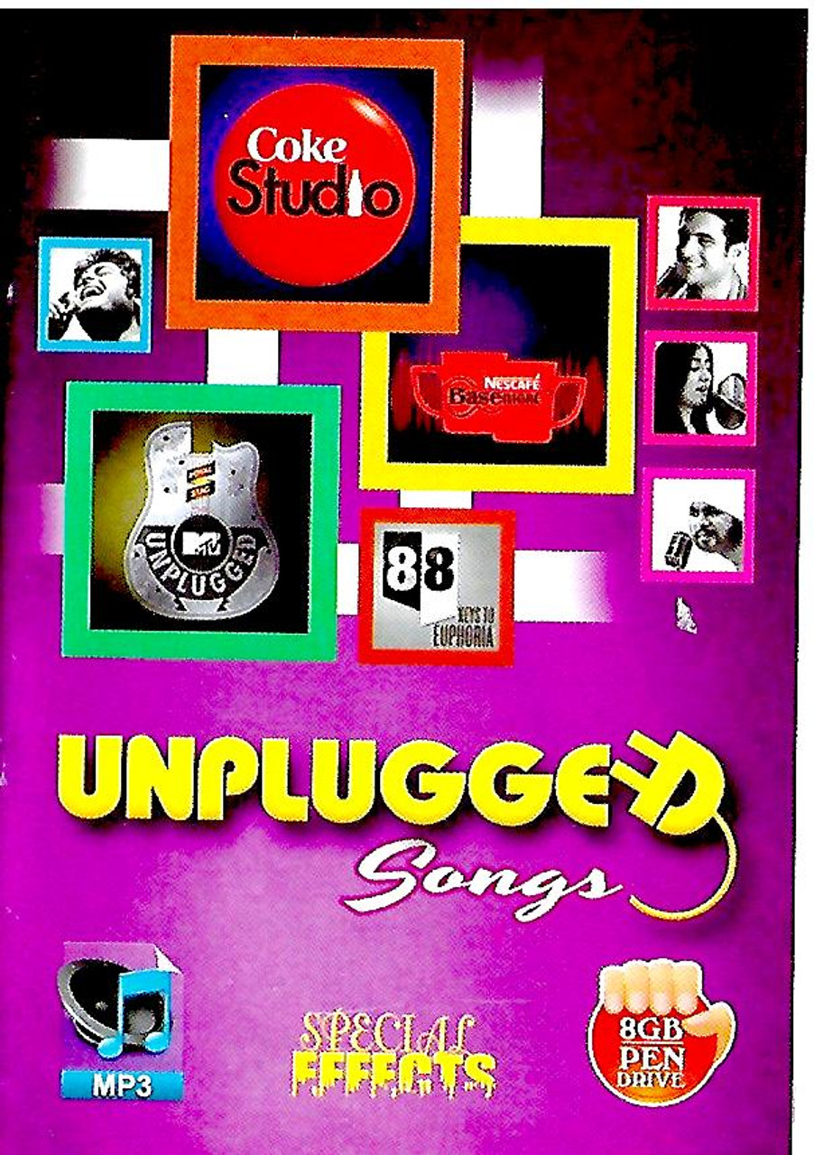 Music Card Unplugged Songs (USB)