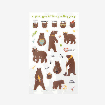 Daily sticker - 01 bear