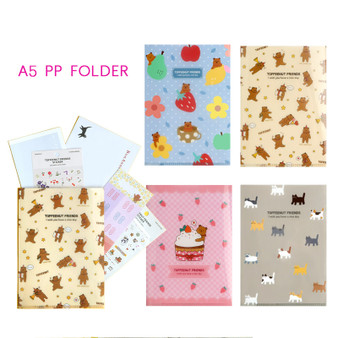 Toffeenut PP File Folder