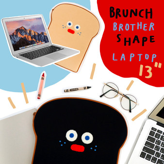 Brunch Brother Shape Laptop Pouch 13""