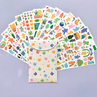 Jelly Bear Sticker Set