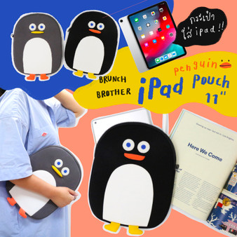 Brunch Brother Penguin iPad Pouch 11""