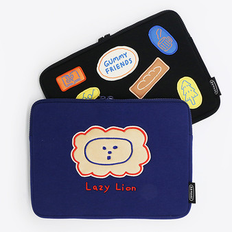 """Brunch Brother Gummy Friends iPad Pouch 11"""""""