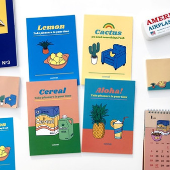 Retro Mood Monthly Planners