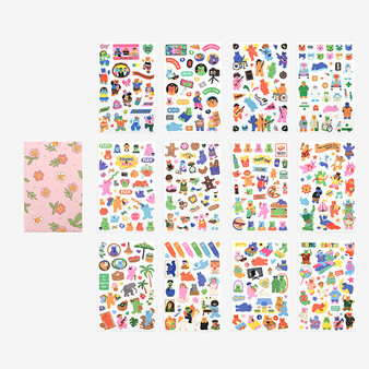 Jelly Bear Sticker Set 2.0