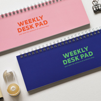 Weekly Desk Pad