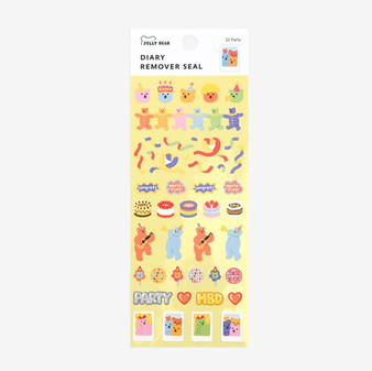Diary Remover Seal - 32 Party