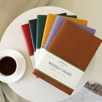 2022 Official Diary Weekly (A5)