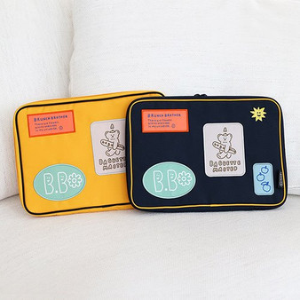 Brunch Brother Collage iPad Pouch 11 Inch