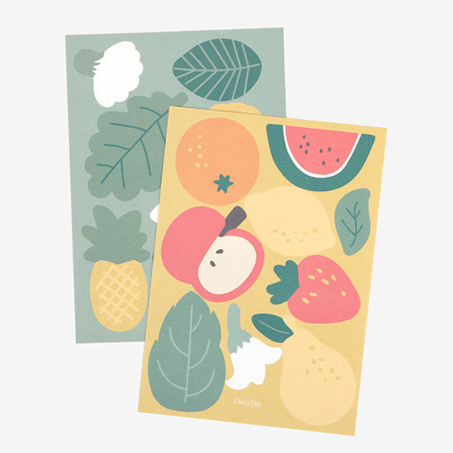 Point Stickers - 02 Fruits