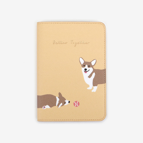 Passport Case - 10 Welsh corgi