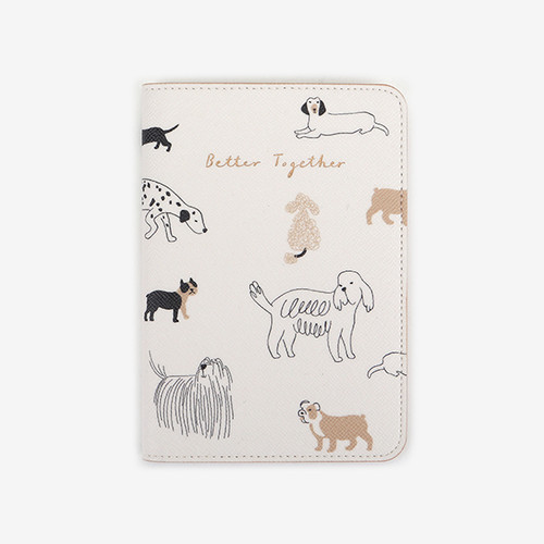 Passport Case - 11 Daily dog