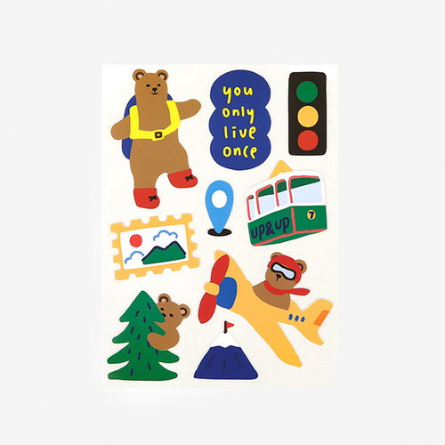 Remover Sticker - 01 Bear's journey