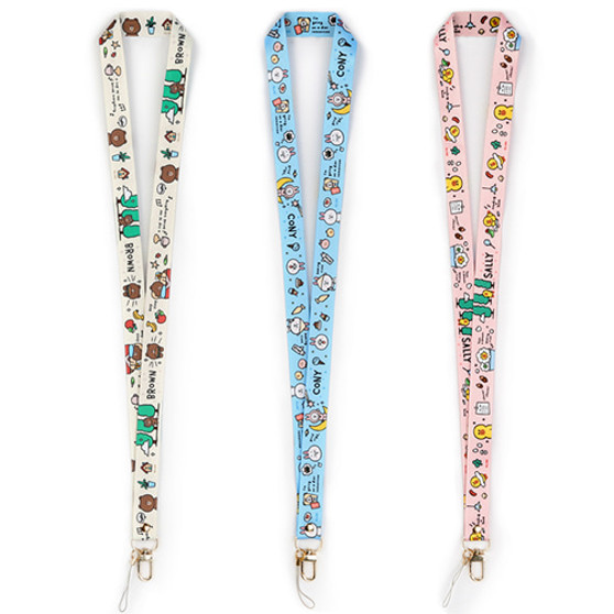 [LINE FRIENDS] Neck Strap [Daily]