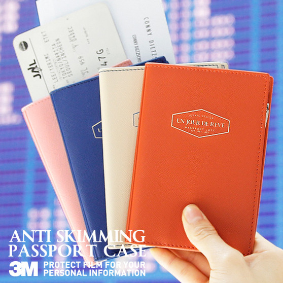 ANTI SKIMMING PASSPORT CASE