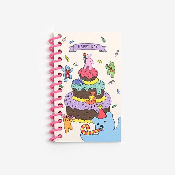 Mini Spring Note (Jelly Bear) - 02 Party