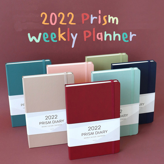 2022 Prism Weekly Diary (A5)