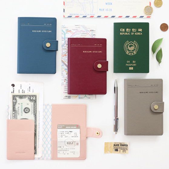 Snap Passport Case