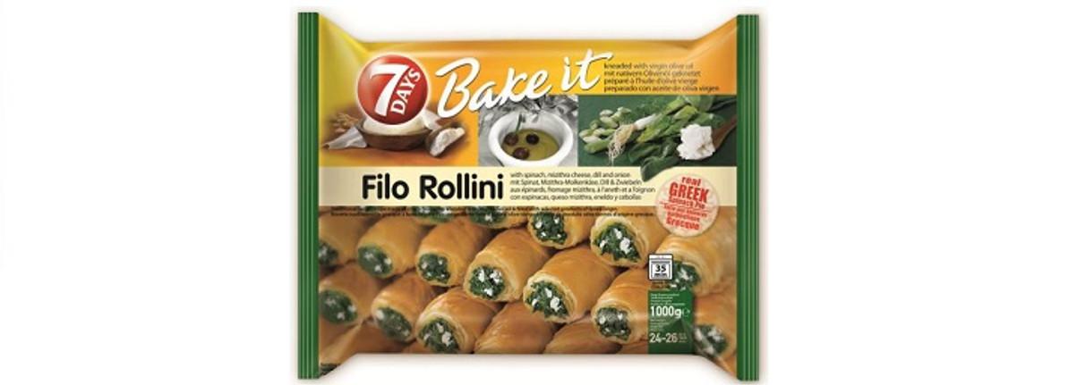 Everyone Is Loving Vegetarian Filo Rollini's