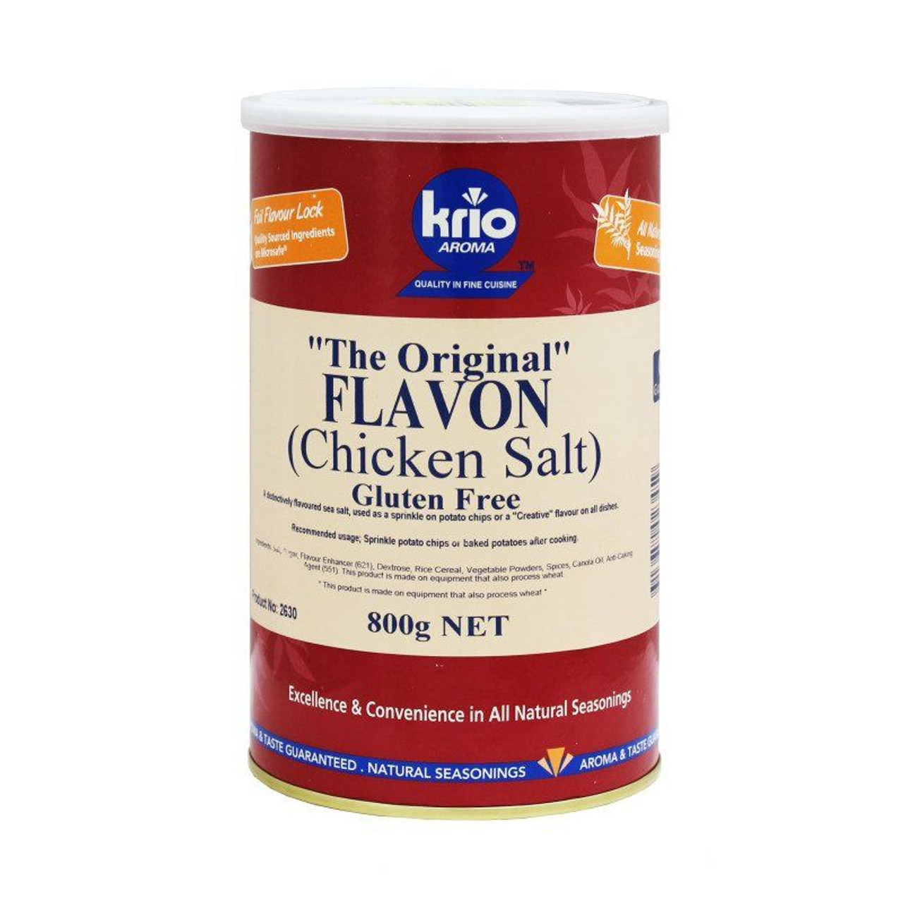 Chicken Salt (Flavon) 800g - Krio Krush