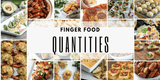 A Simple Way to Calculate Finger Food Quantities For A Party