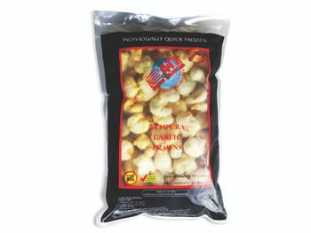 A&T Tempura Garlic Prawns 1kg Pack