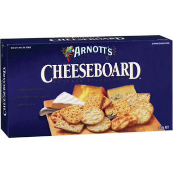 Arnotts Cheeseboard Crackers 250g
