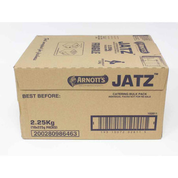 Arnotts Jatz Biscuits Catering Bulk Box 2.25kg